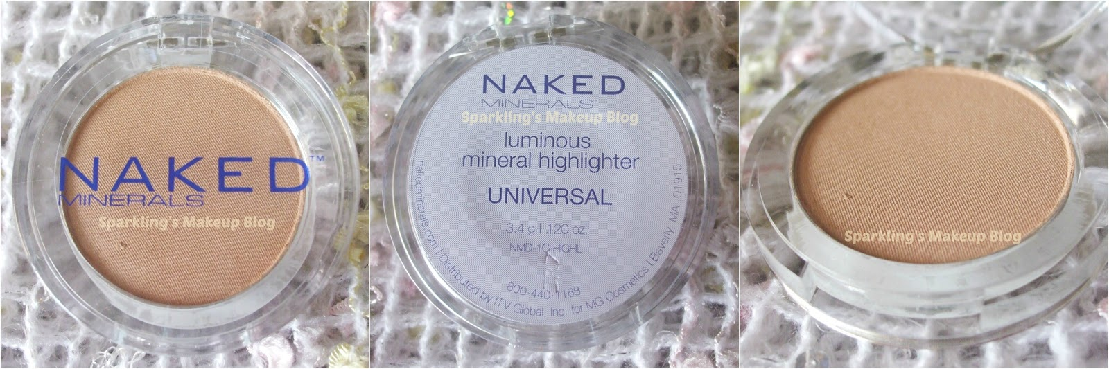 Naked Minerals Luminous Mineral Highlighter Universal