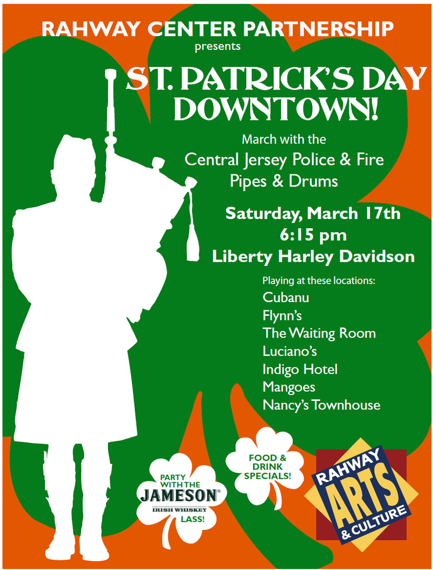 St. Patrick's Day Pub Crawl Announced for Downtown Rahway!