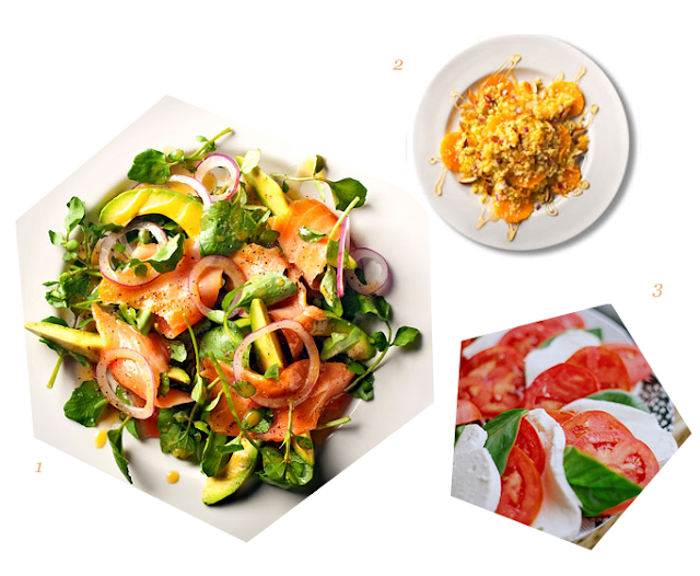 three simple salad recipes for march