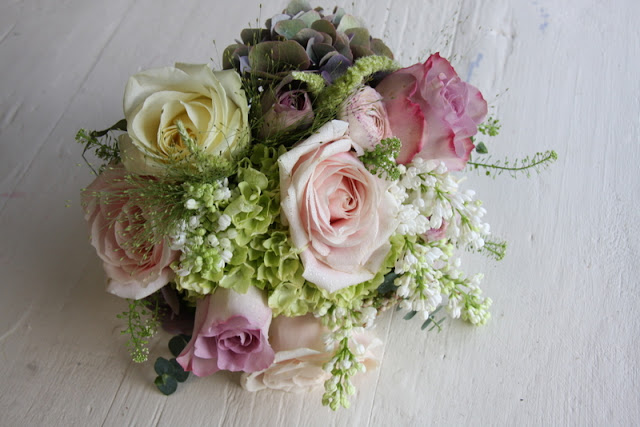 Wedding Bouquet Flower Combinations : The flower magician spring vintage wedding bouquet