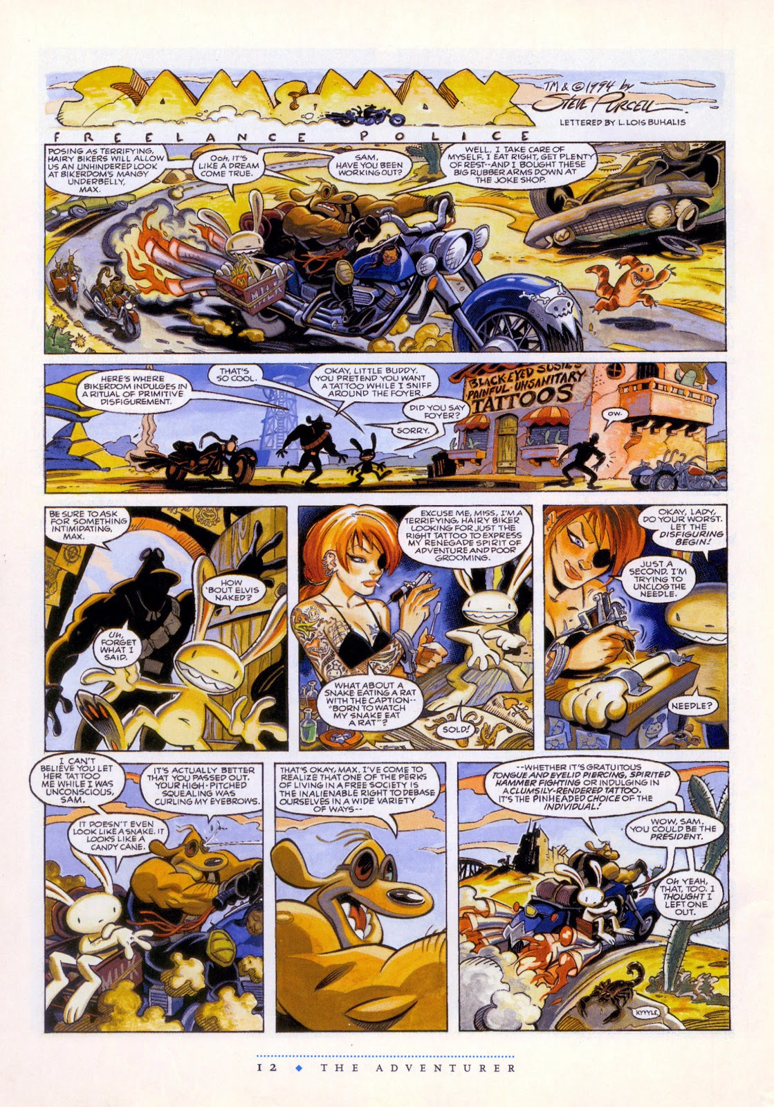steve purcell chainsaw