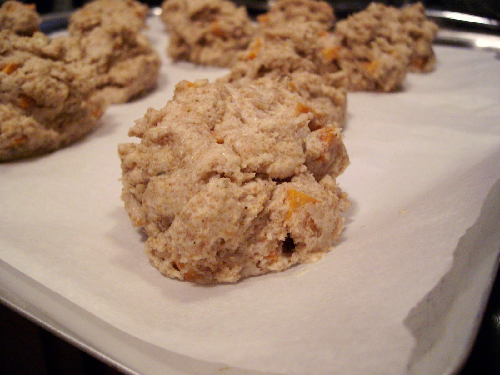 The Foodie RD: Sweet Potato Rosemary Biscuits