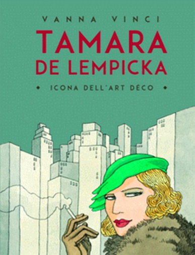 A  NEW  COMIC  ABOUT  THE  LIFE  OF  TAMARA  DE  LEMPIKCA