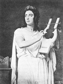 Pauline Viardot as Orphée in 1860