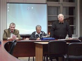 Aspect din timpul comunicărilor, CNHGS, 13.XII.2011...