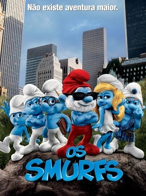 Os Smurfs BluRay Filmes Torrent Download capa