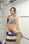 Sanjjana Latest Glam pics in saree-thumbnail-13