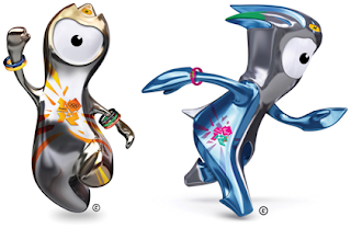 2012 London Olympic Mascots Wenlock And Mandeville