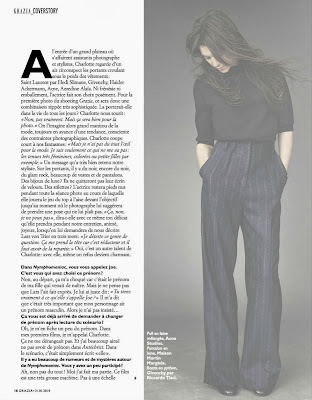 Charlotte Gainsbourg HQ Pictures Grazia France Magazine Photoshoot Janvier 2014