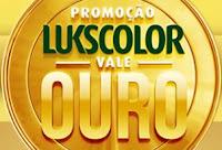 Promoção Lukscolor vale Ouro no Raul Gil www.promocaolukscolor.com.br