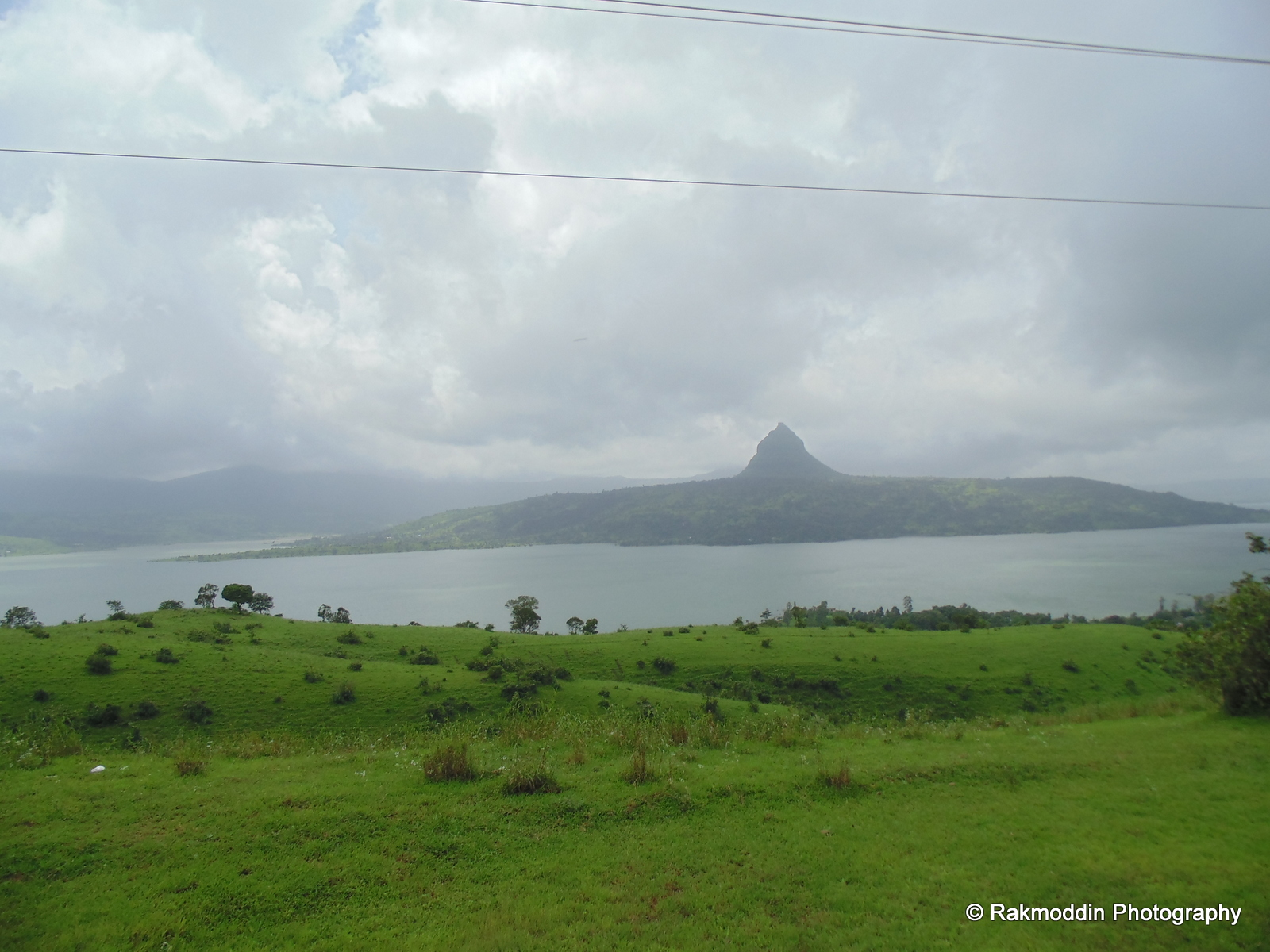 View of Tung fort from pavana dam backwater