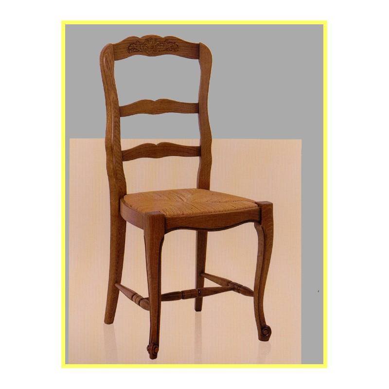 La petite chaise d 39 emmaus 3 euros for Chaise rustique bois et paille