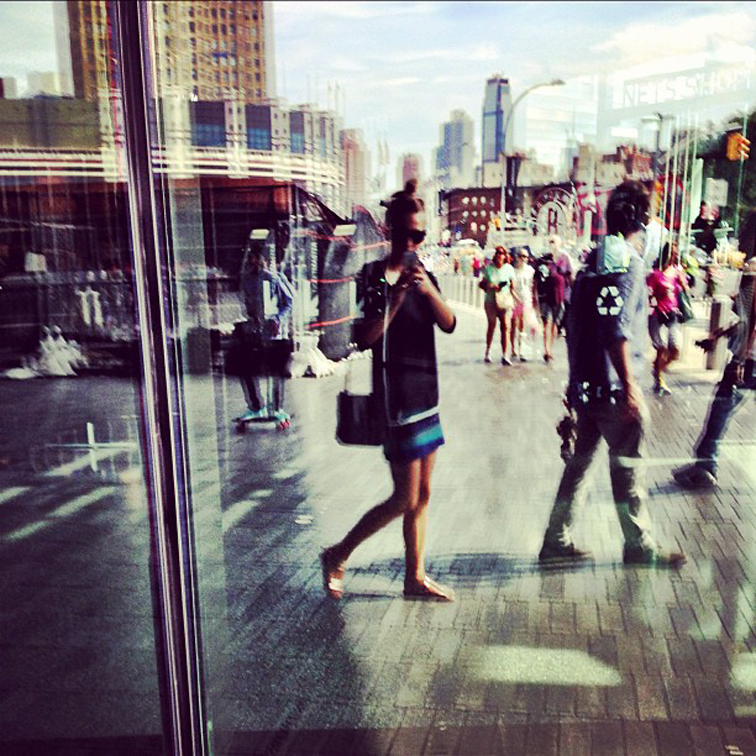 Brooklyn Barclays Center City Life Reflection