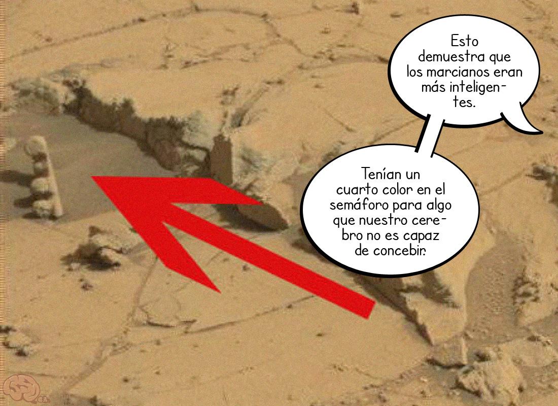 Sin atascos en Marte