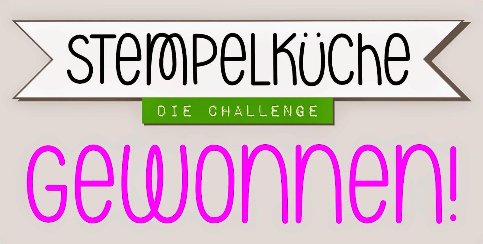 Gewinner bei der Stempelküche Challenge