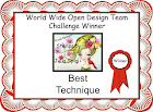 Winner Best Technique 15-09-2017