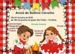 ARRAIAL DO BALBINA CARVALHO