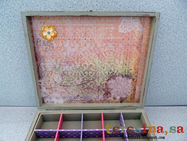 Caja scrapbook