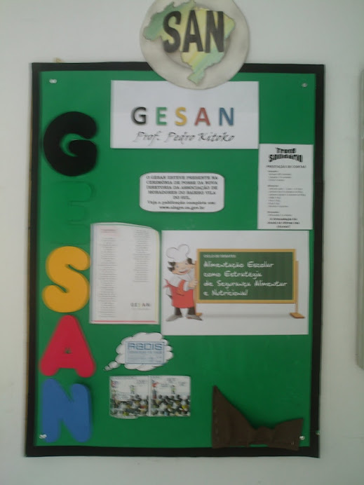Mural do GESAN