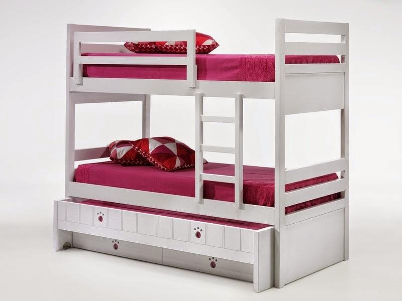 Dormitorio bastante completo con cama compacto puente - Dormitorios infantiles madrid ...