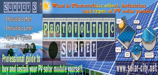 Photovoltaic systems- what is photovoltaic effect, definition and types of pv solar panels