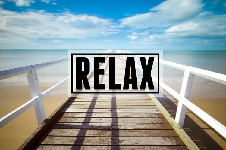 Relax Page Header
