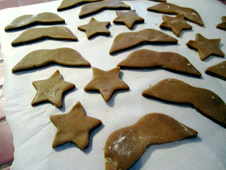Delicious gingerbread cookies