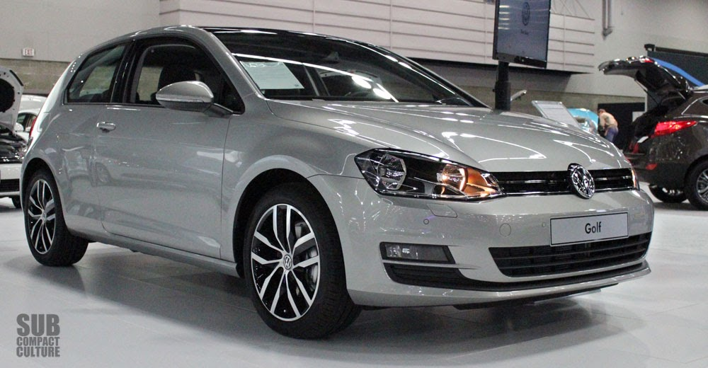 2015 VW Golf front