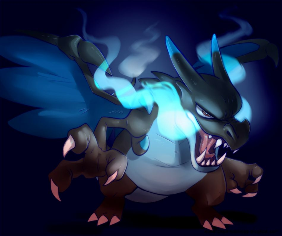 View Original Size Mega Charizard X By Craziiwolf On DeviantArt Image Source From This