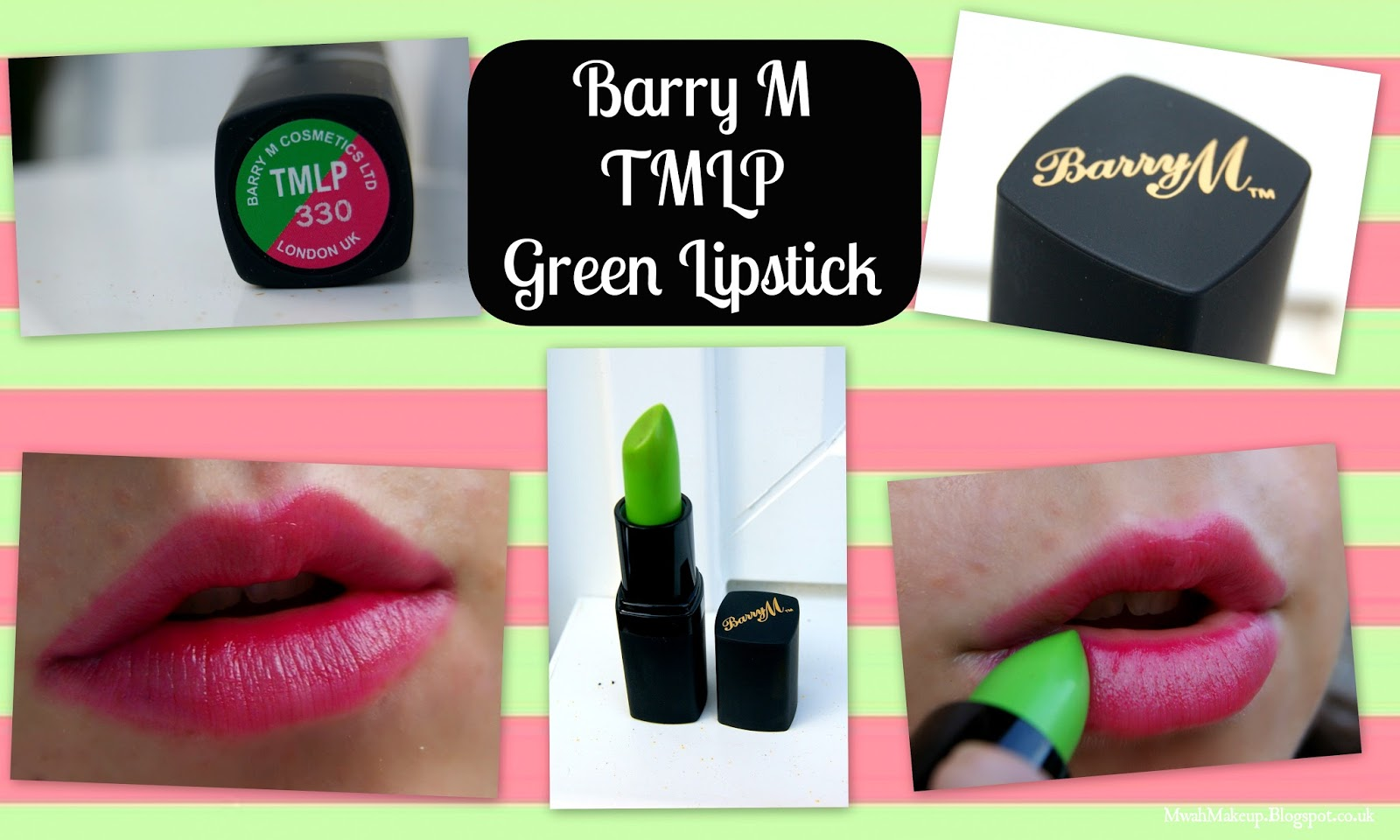 Mwah Makeup: Barry M Touch Of Magic Lip Paint