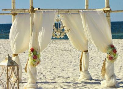 THE SHABBY CHIC BEACH WEDDING