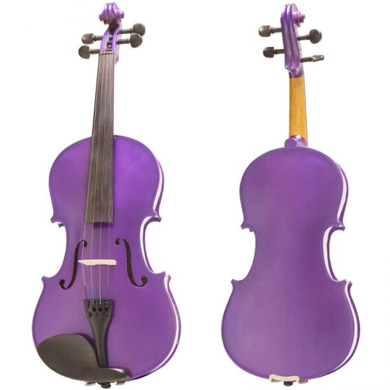 Purple cello