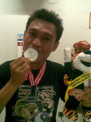 Medali Perunggu Futsal Porwanas X, Feb 2010 di Palembang