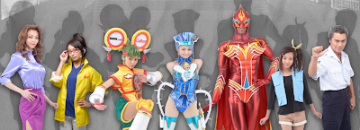 Tiger & Bunny THE LIVE Hero Costumes Revealed!