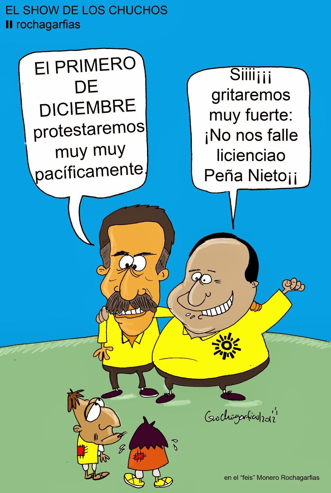 El Show de los Chuchos en el PRD.