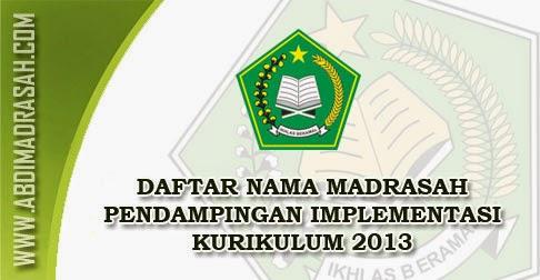 Madrasah Pendampingan K13
