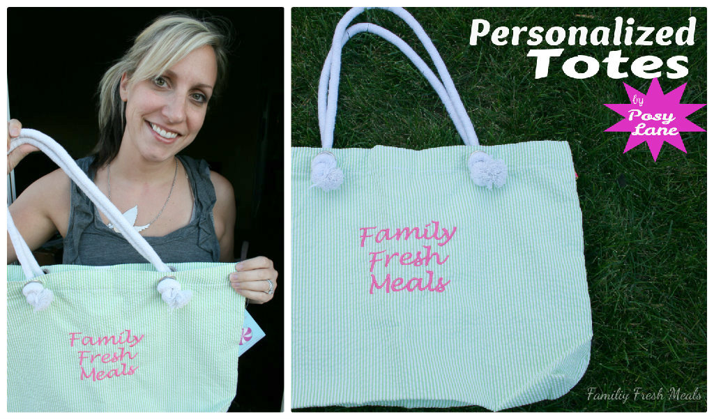 85fa6d16b5c Posy Lane Personalized Totes Review - Family Fresh Meals
