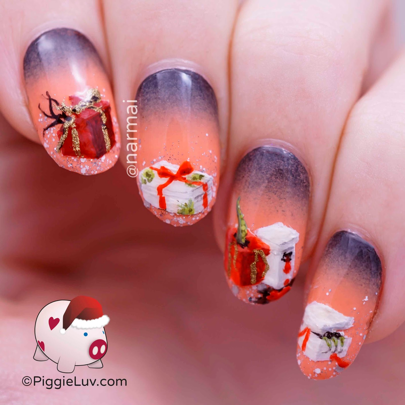 Piggieluv christmas horror nail art zombie snowman demonic christmas horror nail art zombie snowman demonic presents prinsesfo Gallery