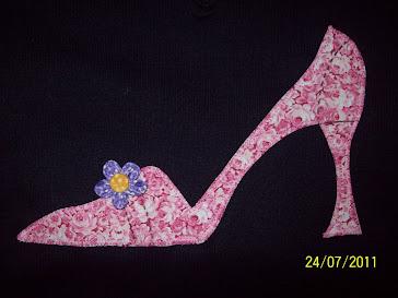 patchwork sapatinho