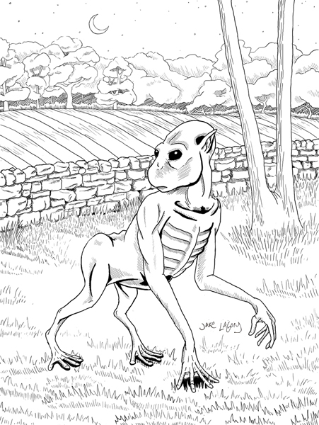 cryptid coloring pages - photo#7