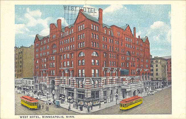 Old West Hotels West Hotel Minneapolis