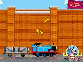 Free online Thomas the train game for children to play simply activities collect musical instruments