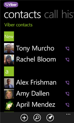 Viber updates Windows Phone 7.5 app too with HD calling support
