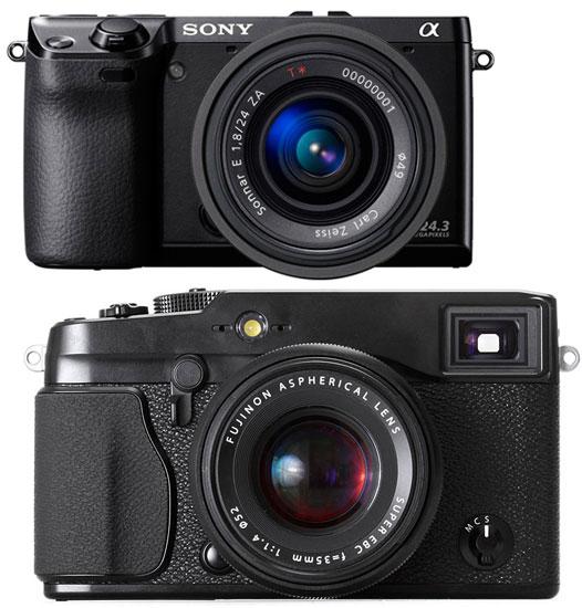 sony nex-7 vs fujifilm x-pro 1