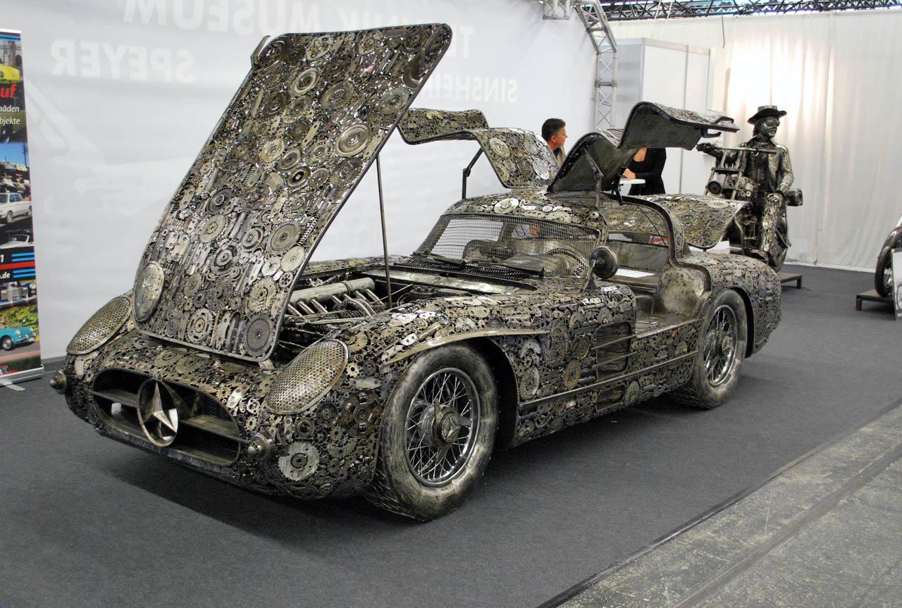 Download mercedes benz 300sl gullwing design for Mercedes benz scrap yard