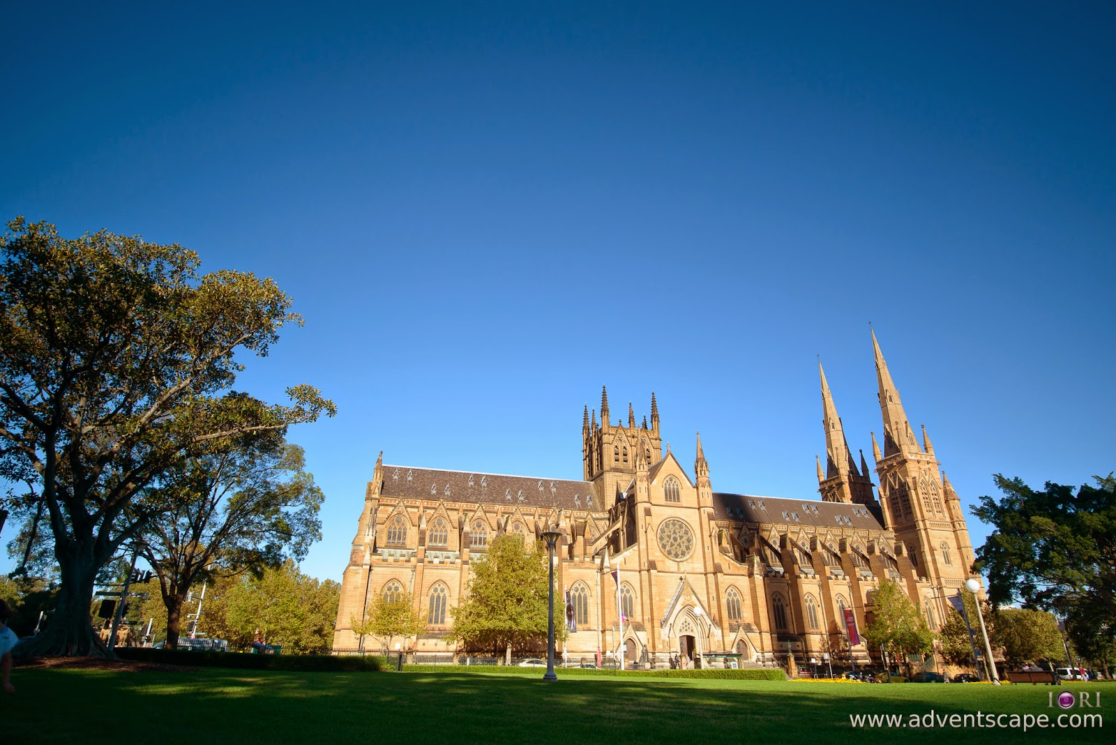 Philip Avellana, Australian Landscape Photographer, NSW, New South Wales, Sydney, Australia, St Mary's Cathedral, church, comparison, review, glass vs resin, filters, Lee Filters, soft ND, ND, neutral density, graduated neutral density, GND, grad nd, resin, 0.9, 3 stops, Hitech
