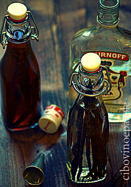 Vanilla extract home made