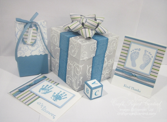 Baby Shower Decoration and Cards Ensemble