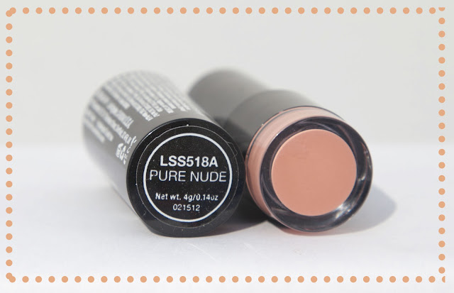 NYX Pure Nude Lipstick Swatch
