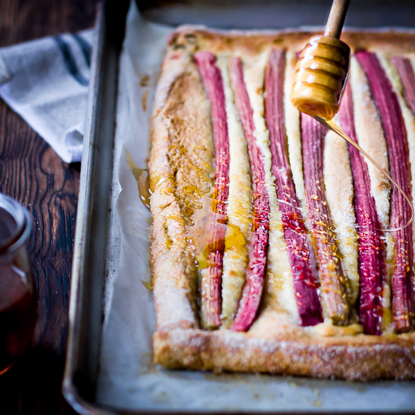 ... Bojon Gourmet: Rustic Rhubarb, Almond, and Honey Tart {Gluten-Free